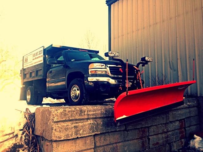 Snow Plowing Millbury, MA
